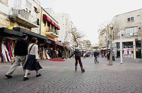 רחוב נחלת בנימין, צילום: צביקה טישלר