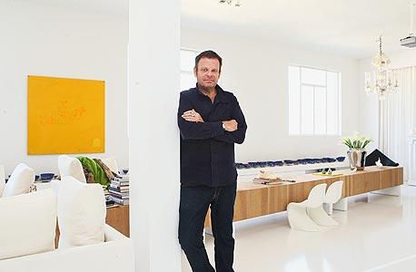 """מוסף נדל""""ן נדלן בית אדריכל אלכס מייטליס, צילום: אוראל כהן"""