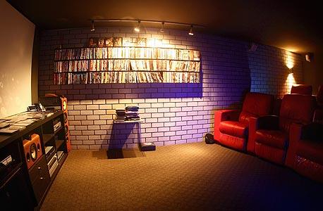 חדר הקרנה, צילום: אוראל כהן