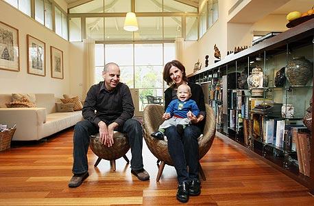 אורי הלוי ודניאל דרבסי הלוי, צילום: עמית שעל