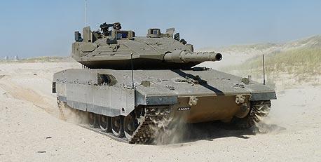 טנק מרכבה. 20 שנה, אותו התרגיל
