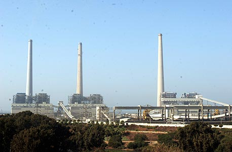 תחנת הכוח בחדרה (ארכיון), צילום: אלעד גרשגורן