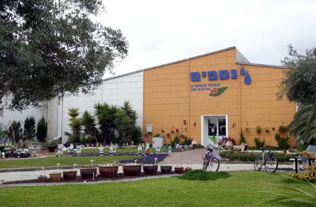 מפעל נטפים בקיבוץ חצרים