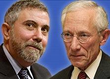 """קרוגמן ופישר. """"סטנלי הפך את ישראל למניפולטורית המטבע השלישית בעולם"""""""