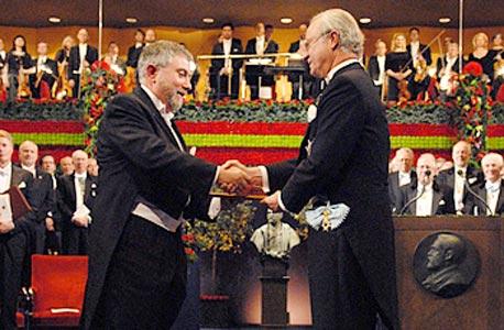 קרוגמן מקבל פרס נובל