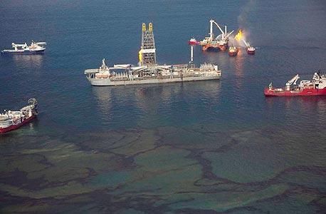 """דו""""ח: עובדים ונהלי בטיחות גרועים גרמו לדליפת הנפט במפרץ מקסיקו"""