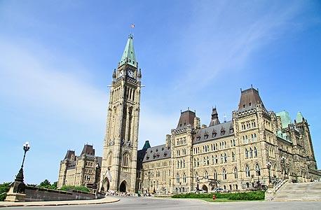 מקום 11. קנדה (בצילום - הפרלמנט באוטאווה) - 162 אלף בתי אב מיליונרים, צילום: shutterstock