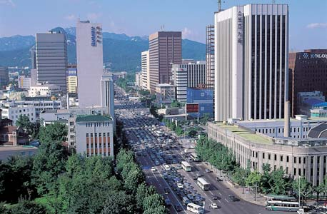 סיאול, דרום קוריאה. האולימפיאדה סייעה להפוך את דרום קוריאה לכלכלה השלישית בגודלה באסיה, צילום: shutterstock