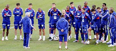 שחקני נבחרת צרפת. מפונקים