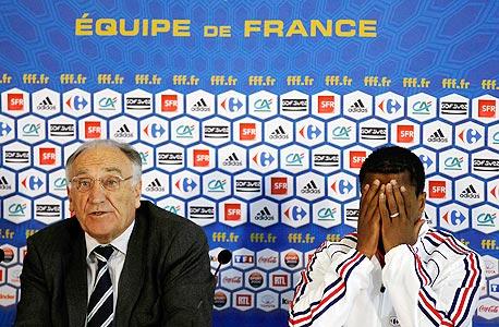 """צרפת: האם יו""""ר ההתאחדות יתפטר בעקבות הכישלון במונדיאל?"""