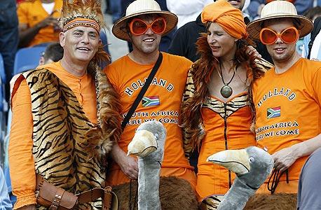 אוהדי נבחרת הולנד. 40 מיליון יורו על מרצ'נדייז כתום