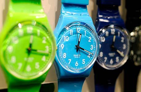 שעונים של סווטש, צילום: בלומברג