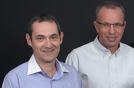 מימין: רוני בירם וגיל דויטש , צילום: אוראל כהן