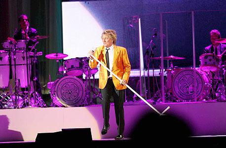 רוד סטיוארט בהופעה (ארכיון), צילום: תומריקו