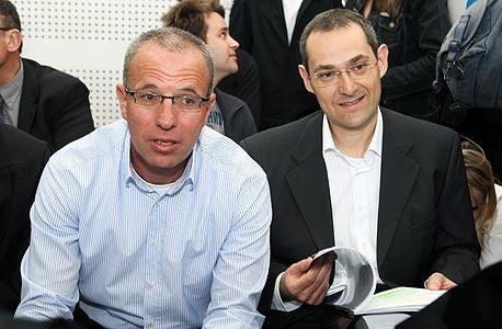 מימין: גיל דויטש ורוני בירם , צילום: אוראל כהן