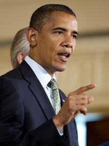 ברק אובמה. נלחם בהאקרים, צילום: בלומברג