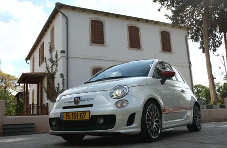 Fiat 500. Photo: Amit Shaal