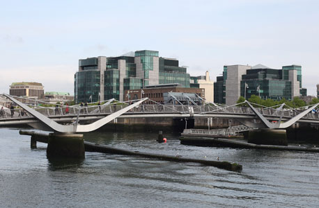 המרכז הפיננסי של דבלין, אירלנד, צילום: בלומברג