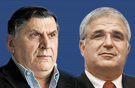 מימין: יוסי אקרמן ויצחק ניסן , צילום: אוראל כהן עמית שעל