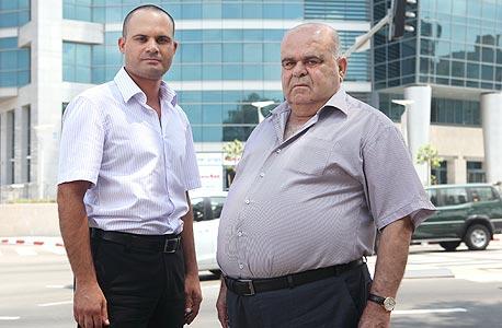 מימין: בדיע טנוס ואליאס טנוס בעלי בסט ייזום ובנייה, צילום: אוראל כהן