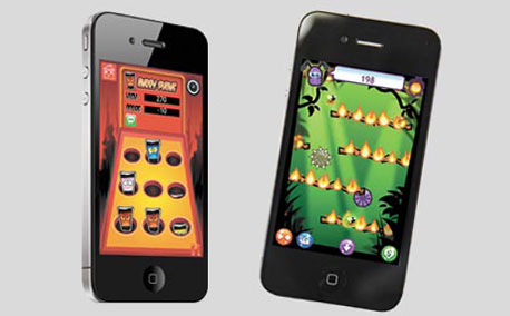 "GameSalad. מאפשר ליצור משחקים לאייפון ולאייפד בעזרת ממשק ""גרור וזרוק"""