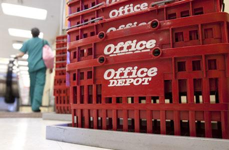 """חנות של אופיס דיפו בארה""""ב, צילום: בלומברג"""