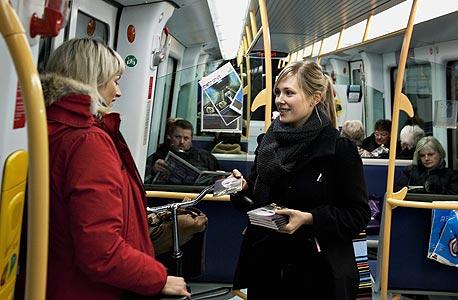 קופנהגן: 72 אלף תושבים, 2 קווי מטרו, 22 תחנות, 21 קילומטר, 140 אלף נוסעים ביום, שנת הקמה - 2002