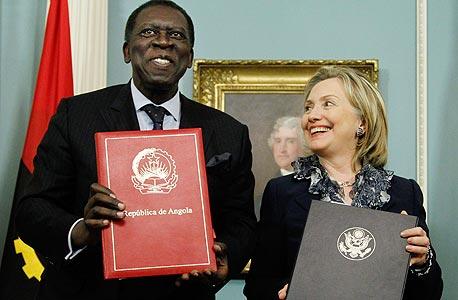 דרוש: לוביסט אמריקאי לדיקטטור מושחת מאנגולה
