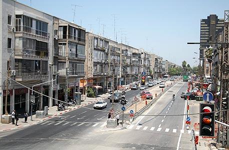 רחוב אבן גבירול בתל אביב, צילום: בועז אופנהיים