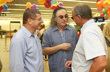 עמיקם כהן, צביקה פיק ואליעזר שקדי, צילום: אוראל כהן