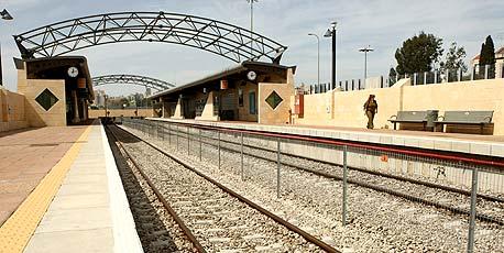 תחנת רכבת באזור כפר סבא. בניית קווים נוספים תביא לפיזור אוכלוסין אופטימלי