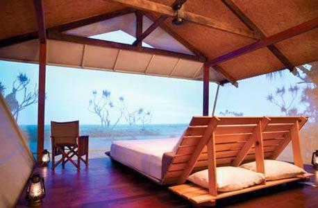 Bamurru Plains, אוסטרליה. מחיר: מ-850 דולר ללילה לאדם בסוויטה זוגית