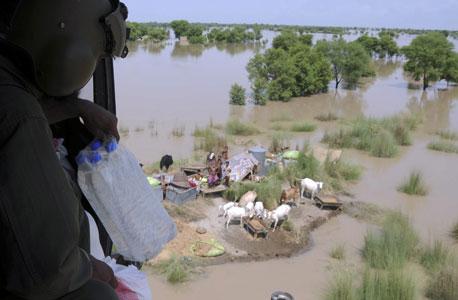 שטפונות בפקיסטן, צילום: אי פי