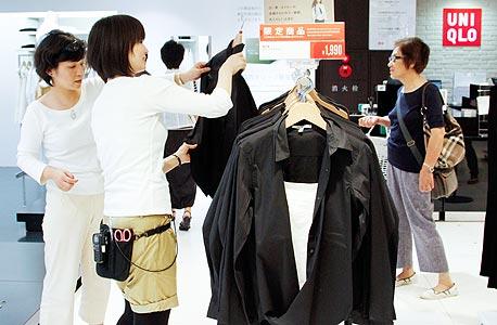 חנות יוניקלו בטוקיו, צילום: בלומברג