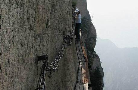 הר חאושן, סין. אסור לטעות!