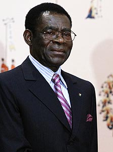 מבאסוגו, נשיא גינאה המשוונית