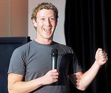 """מנכ""""ל פייסבוק, מארק צוקרברג. """"מקימים גנים סגורים, בלי כניסה לגוגל"""""""