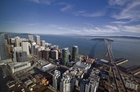 סן פרנסיסקו. בנויה על שבעה הרים