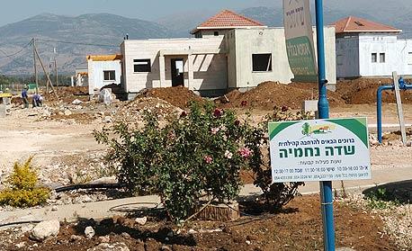 פרויקט הרחבה בקיבוץ שדה נחמיה (ארכיון)