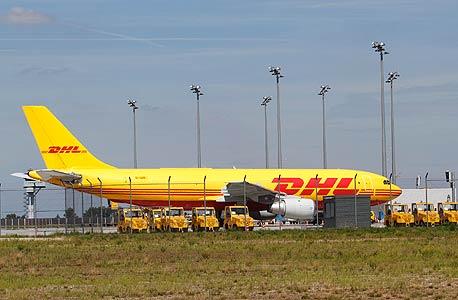 מטוס של חברת DHL, צילום: בלומברג