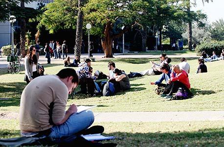 סטודנטים. מאשימים את המכללות בניהול כושל, צילום: אוראל כהן