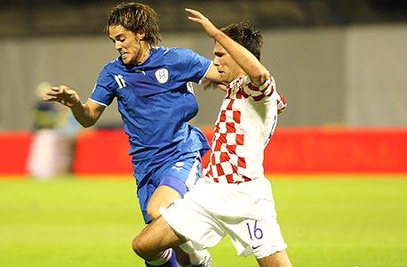 נבחרת ישראל נגד נבחרת קרואטיה. מודל מצליח משלנו