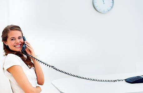 מכירות בטלפון - אפשר גם מהבית