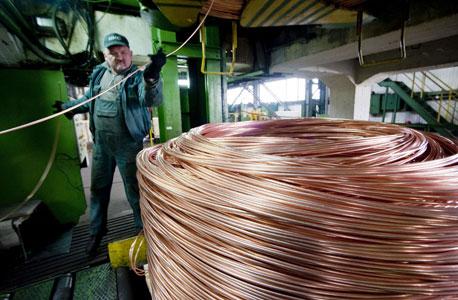 """ארה""""ב דוחפת את שוק הנחושת בסין"""
