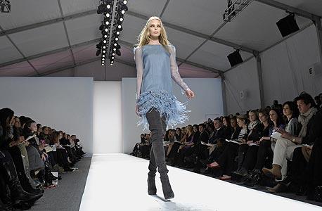 שבוע האופנה בניו יורק: מבחן בד