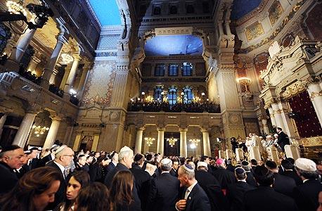 בית הכנסת הגדול, רומא. השפעות מאדריכלות הכנסיות