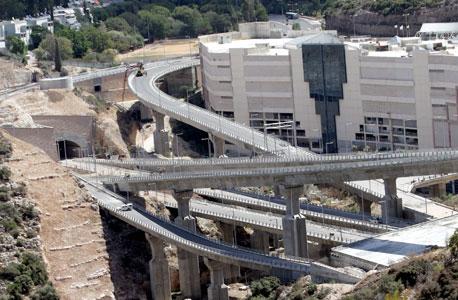 כביש מנהרות הכרמל. חיפה, צילום: גיל נחושתן