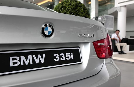 BMW. צבעי דגל בוואריה