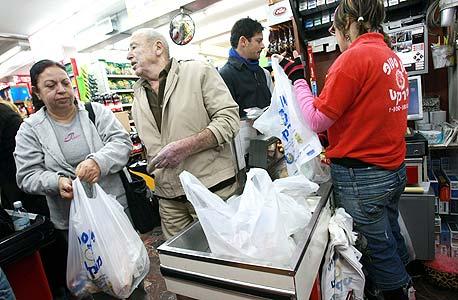 סך הכל נצרכות בישראל כ-2.2 מיליארד שקיות פלסטיק בשנה