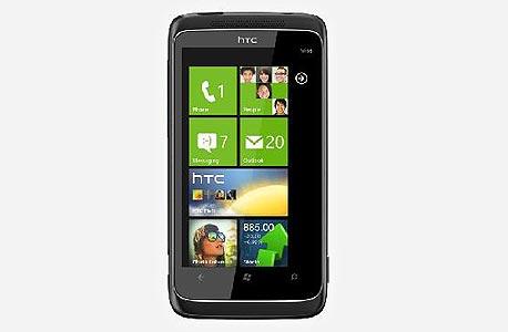 מכשיר ווינדוס פון של HTC. הגרסה המעודכנת בדרך לארץ